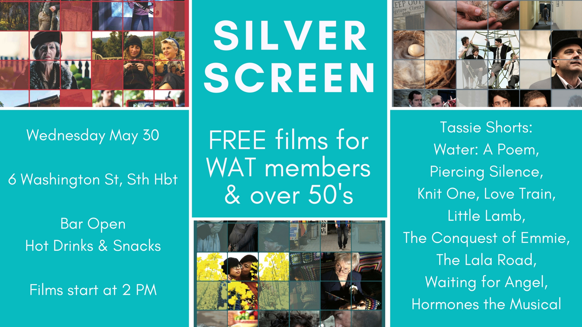 Silver Screen is a curated program of iconic and important Australian films  screening every month in the comfortable theatre at 6 Washington Street in  South ...