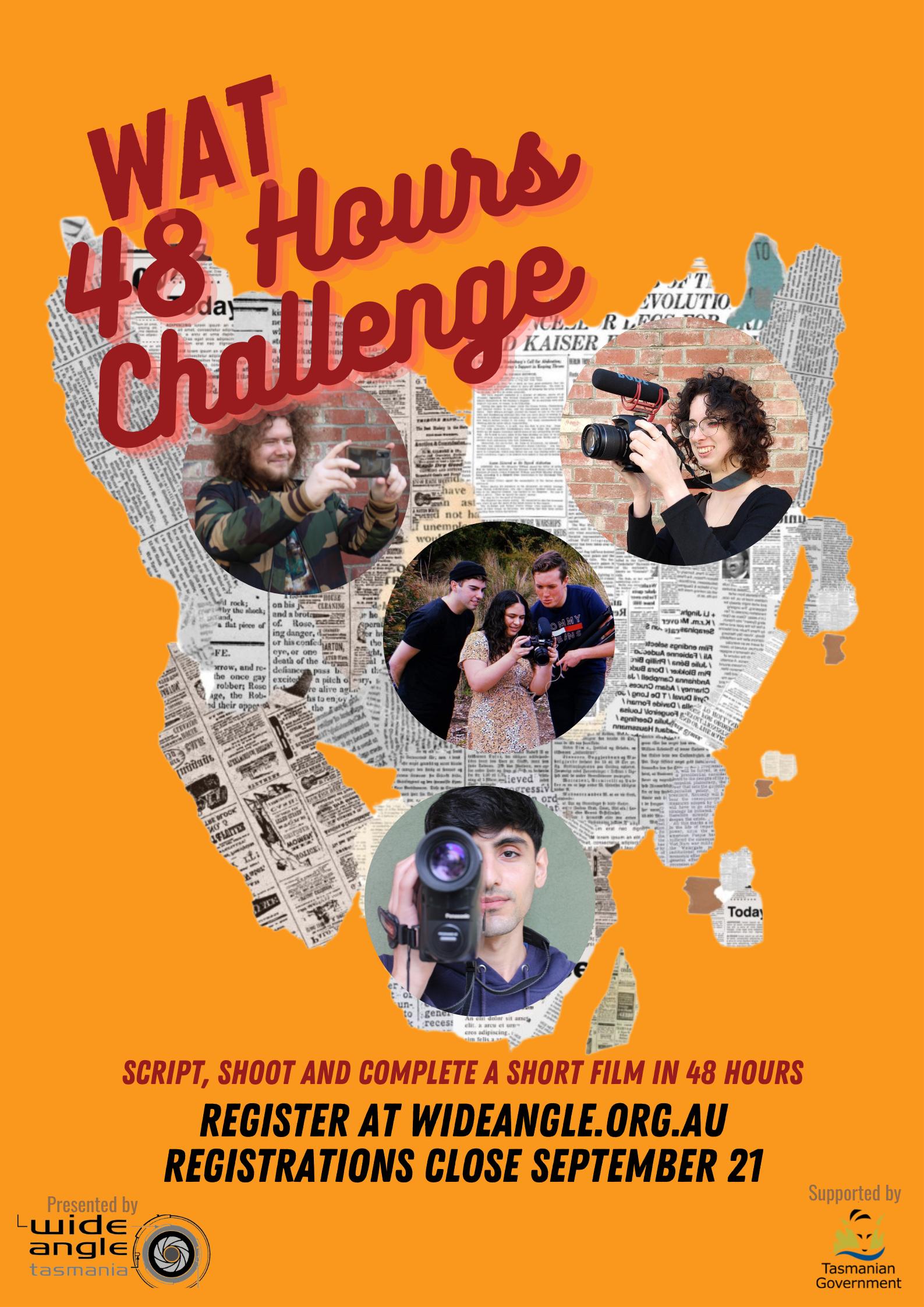 WAT 48 Hours Challenge poster