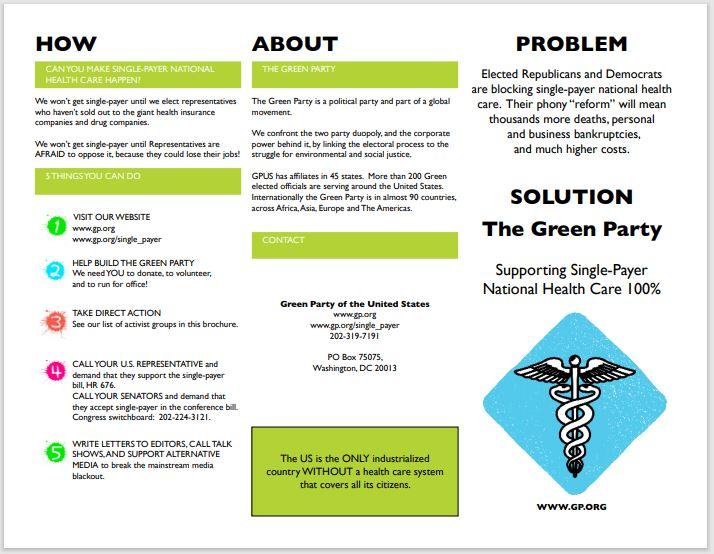 Single Payer Healthcare