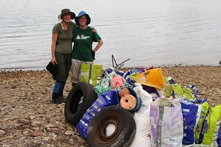 Karen and Liz tarkine rubbish