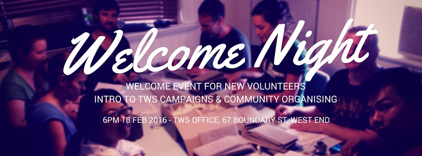 Volunteer Welcome Night