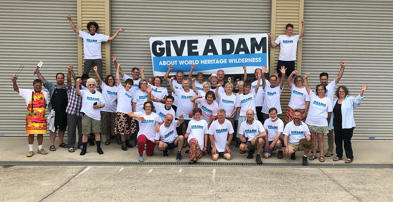 Rallying the troops to crank up Warragamba Dam campaign Image