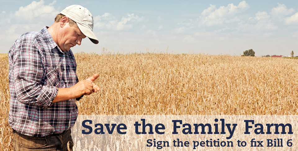 Save the Family Farm - Sign the Petition