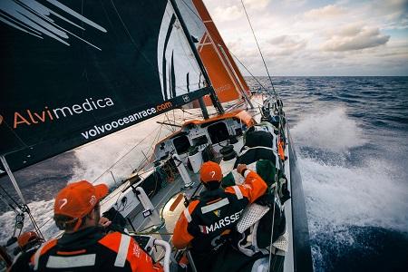 Volvo Ocean Race Leg 6 Newport