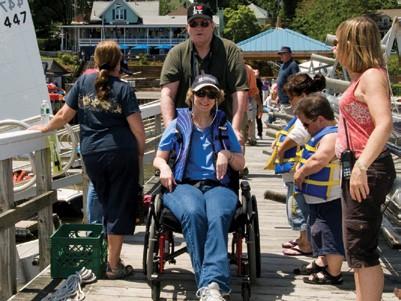 Adaptive Sailing Nyack Boat Club