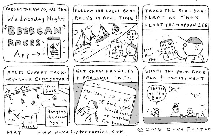 May 2015 Comic by Dave Foster