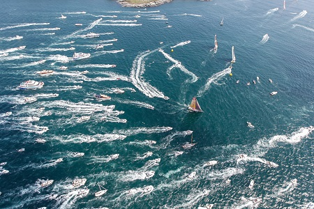 volvo ocean race newport start