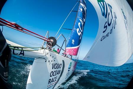 Volvo Ocean Race Team SCA Leg 7