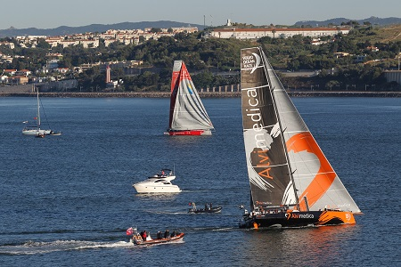 Team Alvimedica Leg 7 finish