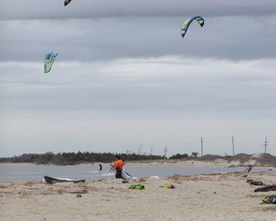 Kite Surfing, Atlantic Highlands