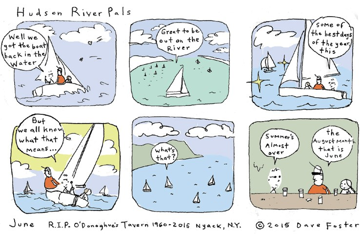 June 2015 Comic by Dave Foster