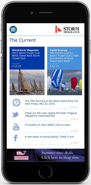 Block Island Race Week 2015 App