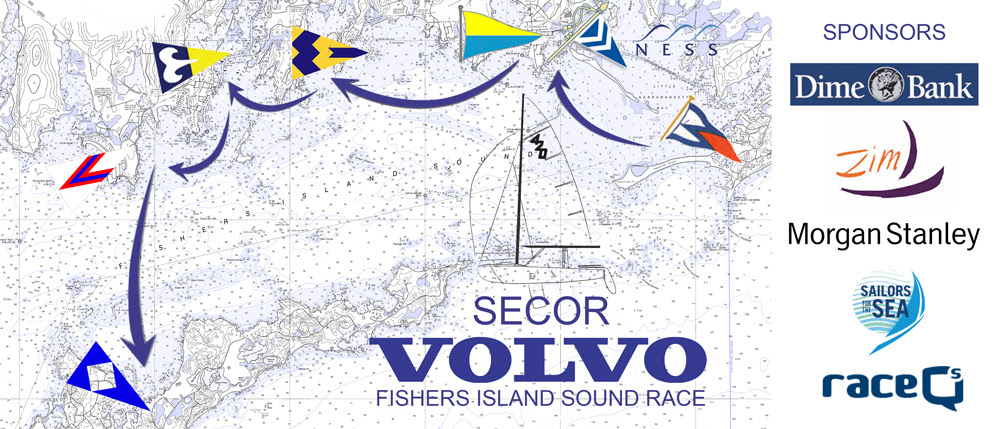Secor Volvo Fishers Island Sound Race
