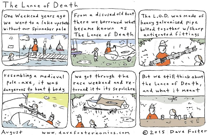 August 2015 Comic Dave Foster