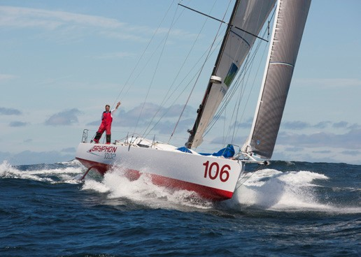 Joe Harris Monohull Non-stop around the world