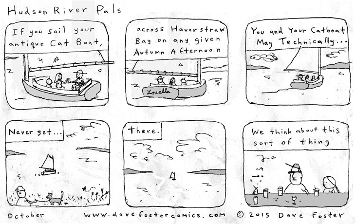 October 2015 Comic By Dave Foster