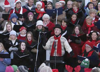 Mystic Seaport Community Carol Sing