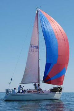 Olson 30 sailboat