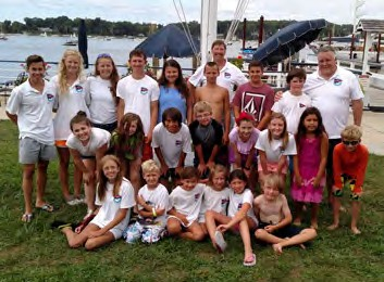 Sagamore Junior sailing