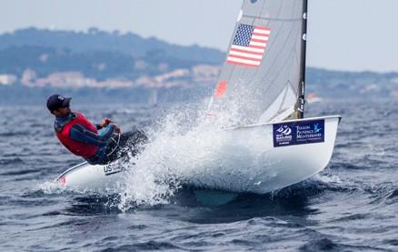 Finn Sailing