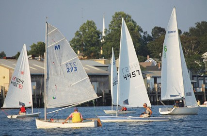 Stonington Harbor Dinghy Races