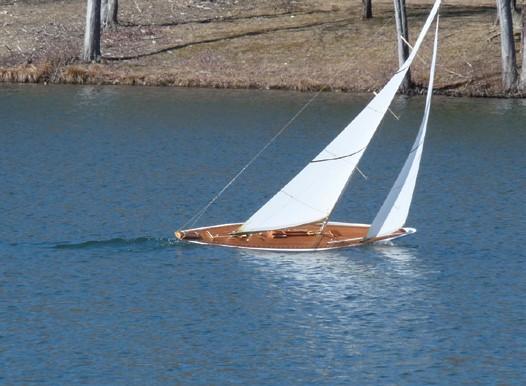 J Class Model Sailing