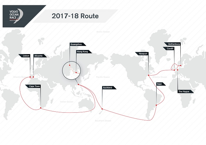 Volvo Ocean Race Route