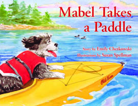 Mabel Takes a Paddle