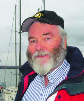 Kieran Quinn, Commodore of Nyack