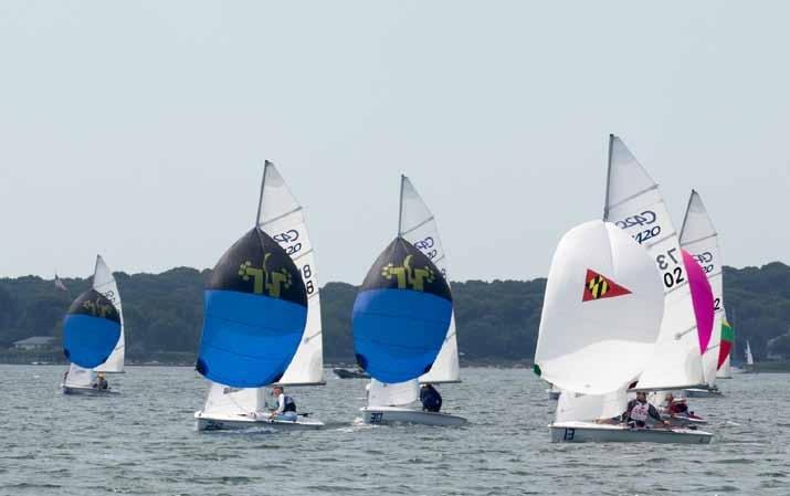 The Dinghy Race by Volvo Construction Equipment