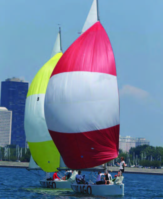 212 Degree Racing hopes to return to the Chicago Match Race Center for the USA Match Racing Grandslam Series. © Isao Toyama