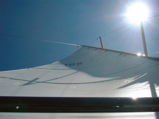 Staring up at the mainsail for hours on end can be a pain in the neck – and eyes. Having good equipment and knowing the controls inside and out will help.