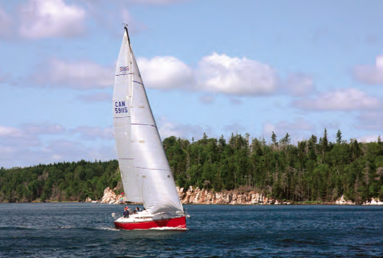 David Barlow's C&C 115 Koobalibra (Halifax) finished 16th overall in 2013. © Shawn Dunlop
