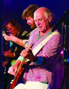 Jimmy Buffett and his band entertained over 600 guests at the IYRS Annual Summer Gala in Newport. © Scott Indermaur