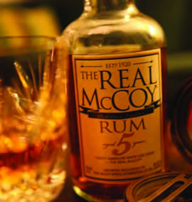 Real McCoy® Rum now available in Connecticut