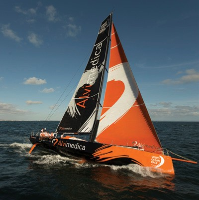 Team Alvimedica practices off Portugal