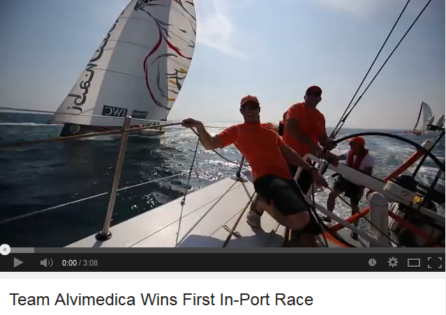 Team Alvimedica Alicante In Port
