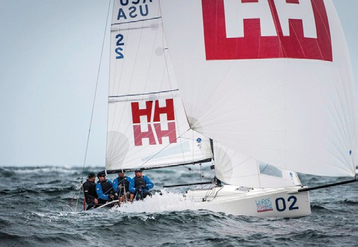 Team Helly Hansen first J/70 Champion