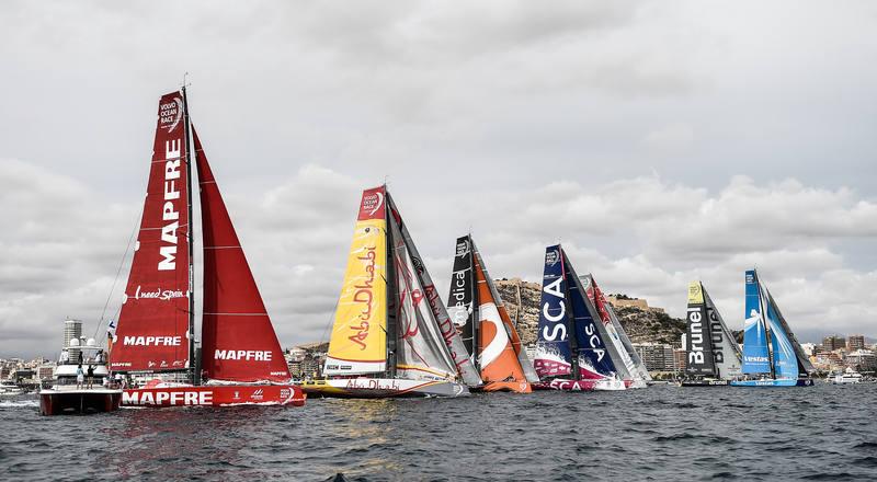 Volvo Ocean Race 2014 Leg 1 Start