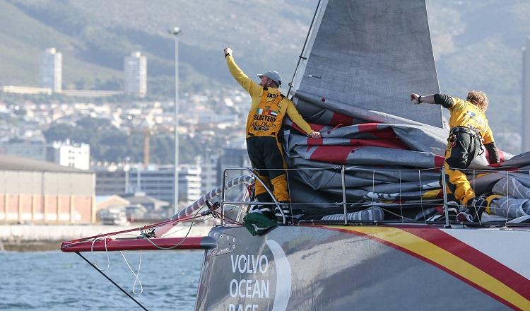 volvo ocean race Cape Town Abu Dhabi Ocean Racing