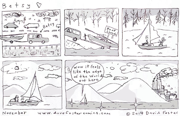November comic by Dave Foster