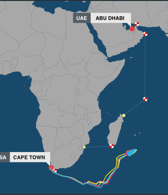 volvo ocean race positions 112614