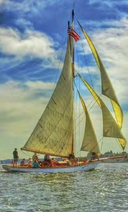 Elf classic sailboat
