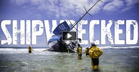 Team Vestas video of wreck