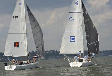 Princeton and Columbia Sailing