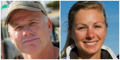 Terry Hutchinson of Annapolis, Md., and Stephanie Roble of East Troy, Wisc., today were named US Sailing's 2014 Rolex Yachtsman and Yachtswoman of the Year.