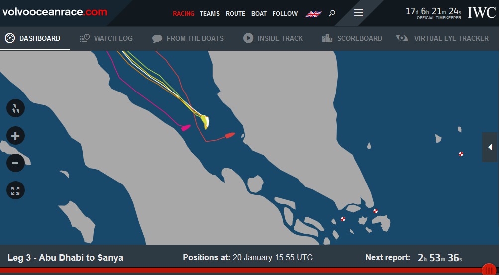 volvo ocean race positions 12015