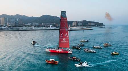 Dongfeng wins Leg 3 of Volvo Ocean Race