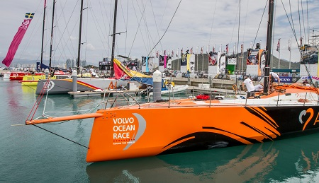 Volvo Ocean Race gets ready for leg 4