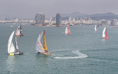 Sanya in port race 2015 volvo ocean race